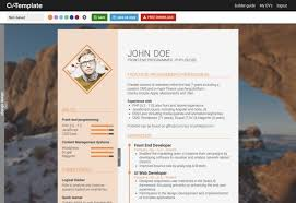 Resume Making Sites Template Great Free Cv Templates How Write Strong Without