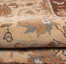 royal beige brown gold grey ivory traditional hand tufted wool area rug 5x8