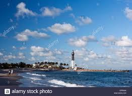 Hillsboro Inlet Lighthouse Pompano Beach Florida Usa