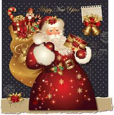 Santa Claus Greeting Cards 6 Free Vector Graphic Download