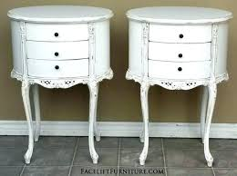 medium size of three bedrooms in spanish and more sf two antique white finish end tables