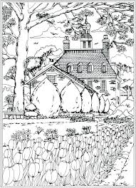 coloring page nature coloring pages nature scenes creative haven spring scenes coloring book by coloring page coloring page nature