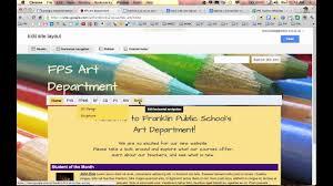 Google Sites Custom Design Google Sites Edit Site Layout