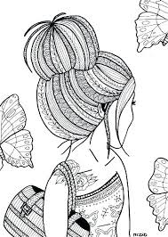 Cute Coloring Pages For Girls Cute Girl Coloring Pages To Download
