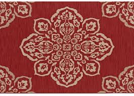 1 hampton bay medallion indoor outdoor rug 5 x 7 reg 79 97 49 00