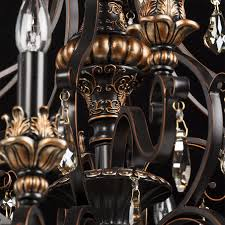 Edler Kronleuchter Schwarzgold Metall 28 Flammig Kristall Handarbeit