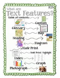 Text And Graphic Features Lessons Tes Teach