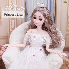 Búp Bê Barbie 60cm Hình Búp Bê Phim Hoạt Hình Frozen giảm tiếp 260,000đ