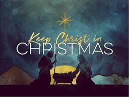Christmas Sermon Jesus The Light Of The World Keep Christ In Christmas Sermon Powerpoint Christmas
