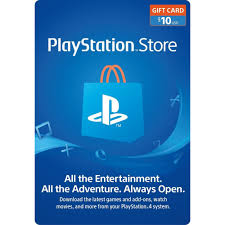 10 playstation gift card ps3 ps4 ps vita digital code