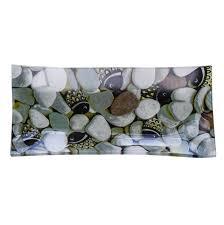 """<b>Тарелка</b> Gift'n'<b>Home</b> """"Морские камушки"""", 26,7 х 12,2 см"""