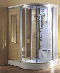 steam planet sliding door dual sauna and steam shower unit