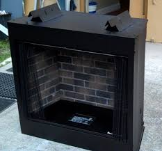 gas fire box for vent free installation ventless gas fireplace