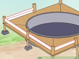S Image Titled Build A Deck Around An Above Ground Pool Step 17