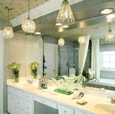 Vanity lighting bathroom Overhead Hanging Bathroom Vanity Lights Appealing Hanging Bathroom Light Fixtures Mini Pendant Lights Bathroom Design With White Vanity Cabinet And Sink Also Large Poppro Contemporary Bathroom Furniture Hanging Bathroom Vanity Lights Appealing Hanging Bathroom Light