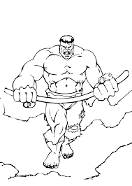 Small Picture Incredible Hulk Coloring Pages Learn To Coloring