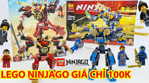 Lắp Ráp 2 Set Lego Robot Mini Giá Rẻ Trong Ninjago