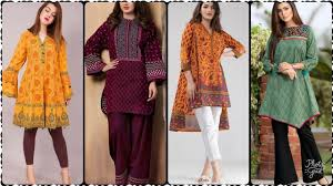 Ethnic Kurti Design Ethnic Lawn Kurti Design Printed Kurti Collection 2019