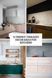 Terrazzo Design Ideas 15 Trendy Terrazzo Decor Ideas For Kitchens Shelterness