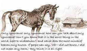 Anna Sewell Black Beauty Quotes Best of Black Beauty The Autobiography Of A Horse Nerdalicious