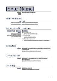 blank resume template - Exol.gbabogados.co