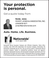 nationwide life insurance quote new sand mountain reporter business directory s restaurants