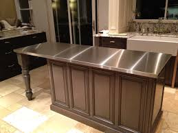 Stainless steel sinks and counters Backsplash Washington Post Stainless Steel Countertops Custom Metal Home