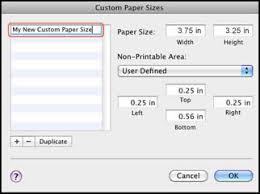 Hp Printers Creating Custom Paper Sizes Hp Customer Support