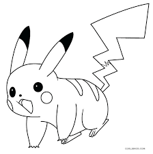 Pikachu Coloring Pages Printable Coloring Pages For Kids Pokemon