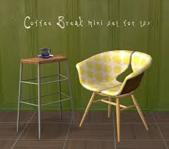 mid century modern dining and style set sims 3 download. coffee break mini set for ts2 - downloads bps community | remember me pinterest and sims mid century modern dining style 3 download