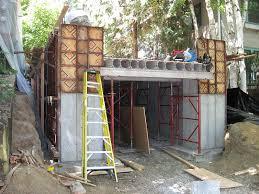 Underground residential garage