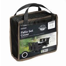 breathable garden furniture covers. Gardman 6-8 Seater Rectangular Patio Set Cover - Black Breathable Garden Furniture Covers