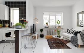 topsmall living room and kitchen bo ideas 1
