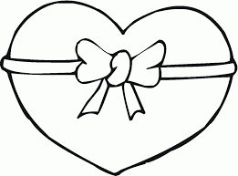 Small Picture Heart Shape Coloring Pages Coloring Home