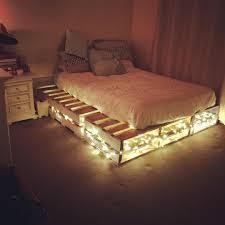 Wooden pallet bed ideas | Wooden pallet beds, Wooden pallets and Pallets