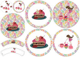 Tea Party Free Printables Girls Tea Party Free Printable Cupcake Toppers And Wrappers