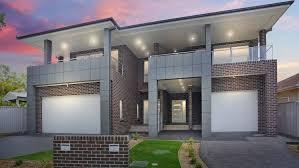 Duplex Designs For Narrow Blocks Excellent Very Small Duplex House Home Elevation Design
