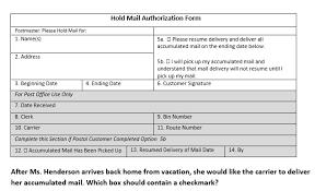 Postal Service Practice Test