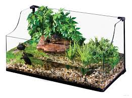 Turtle Tank Decor Exo Terra Turtle Terrarium Large Aquatic Habitat