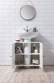 Ebay Bathroom Cabinets Details About Bathroom Sink Cabinet Undersink In White Stow