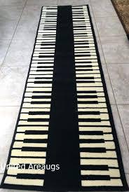 2x8 runner rug runner rug modern piano design keyboard time size 2x8 runner area rugs