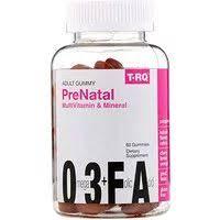 T-RQ, <b>Adult Gummy</b>, <b>Prenatal</b> Multivitamin & Mineral, Cherry Lemon ...