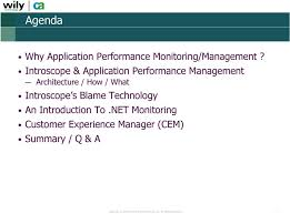 customer experience manager application performance monitoring apm managing critical