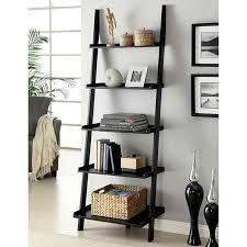 interior sion black ladder shelf jack s warehouse useful local 5 black ladder shelf