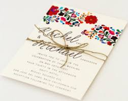 wedding invitations etsy Wedding Invitations From Photos destination wedding invitations colorful mexican embroidery inspired summer wedding invitation (rachel suite) wedding invitation photoshop file