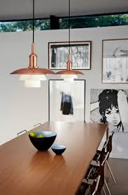 Copper Dining Table Lights 10 Copper Mid Century Lamps To Inspire Your Home Decor