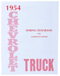 gm truck parts literature multimedia literature wiring 1954 truck wiring diagram