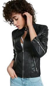 express leather jacket image 0