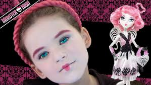 deuce gorgon monster high doll costume makeup tutorial for mugeek vidalondon