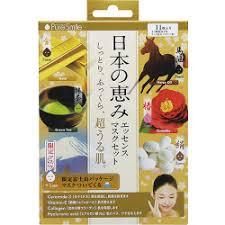<b>Sun Smile</b> - <b>Pure Smile</b> Essence <b>Mask</b> Set: Horse Oil x 2 + Green ...